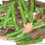 木耳肉末炒四季豆(荤素搭配)