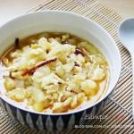 鸡蛋炒白玉苦瓜(素菜)