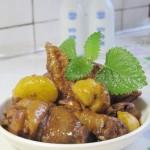 板栗烧仔鸡(荤菜-中秋家宴)