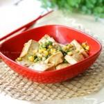 蚝油嫩豆腐(素菜-一招给豆腐去腥)
