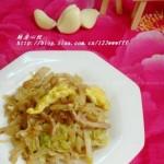 家常炒饼(早餐菜谱)