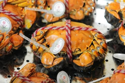清蒸盘锦河蟹