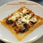简易披萨(五分钟的快捷早餐菜谱)