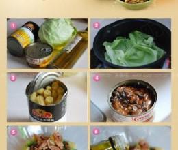 吃肉减肥两不误:金枪鱼蔬菜沙拉