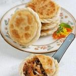 海米豆豉猪肉白菜盒子饼(早餐菜谱)