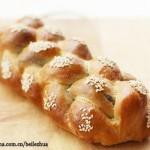 黑芝麻辫子面包(早餐菜谱)