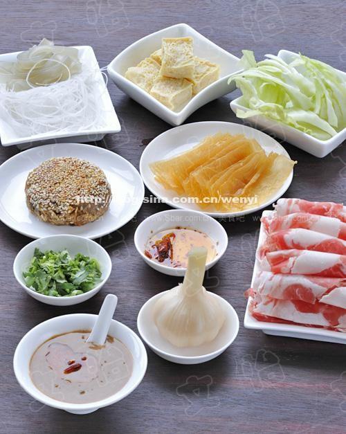 老北京涮羊肉調料的家庭做法