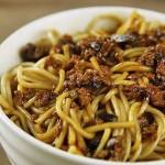 香菇肉燥面(早餐菜谱)
