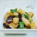 东北地三鲜(素菜)