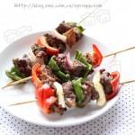 烤牛肉串(荤菜)