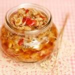 剁椒金针菇酱(素菜-餐桌上的营养小菜)
