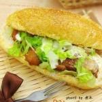 麦当劳黑椒鸡腿堡(早餐菜谱)