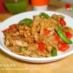 甜豆炒牛柳(荤菜)
