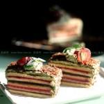 彩虹蛋糕(早餐菜谱)