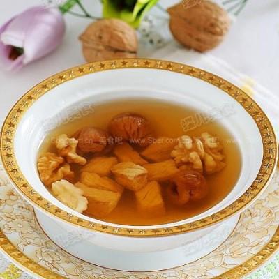 核桃桂圆瘦肉汤