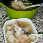 瘦肉山药汤(荤菜)