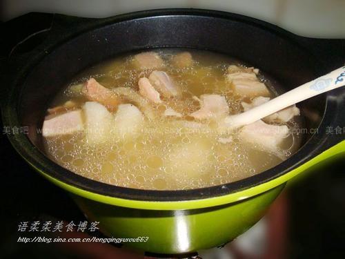 瘦肉山药汤