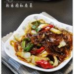 白菜炒粉条(素菜)