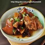 猪手焖莲藕(荤菜)