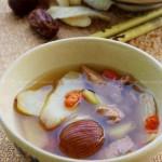 淮杞蜜枣煲瘦肉(家庭食疗-健脾润燥)