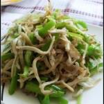 尖椒炒银鱼(海鲜家常菜-快手下饭菜)