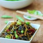雪菜毛豆(素菜)