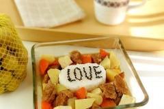 土豆牛肉饭