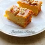 山楂核桃蛋糕(早餐菜谱)