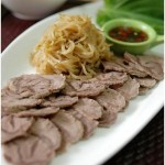 韩式牛肉片冷盘(荤菜)