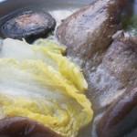 腊鸭腿煲大白菜汤(荤菜-腌腊鸭腿)