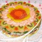 壽司蛋糕(早餐菜譜-不用烤箱)