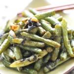 榄菜干煸豆角(素菜)