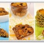 三款南瓜饼干(零食)