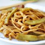 扁豆焖面(早餐菜谱)