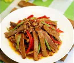 肉末芹菜炒香干