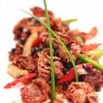 辣烤鸡胗(荤菜-5分钟成就快手下饭菜)