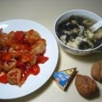 番茄炒馄饨(早餐菜谱)