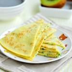 清香黄瓜蛋饼(早餐菜谱)