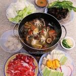 河蟹肥羊火锅(冬季菜谱)
