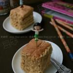肉松蛋糕(早餐菜谱)