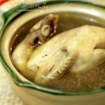 蒜子土鸡(清蒸菜)