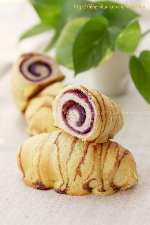 紫薯虎皮墨西哥包