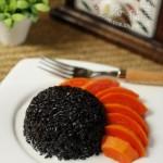 黑香米椰浆水果饭(花样主食-东南亚风情)
