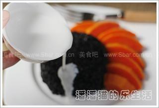 黑香米椰浆水果饭