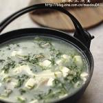 荠菜豆腐羹(素菜-荠菜碧绿小方法)