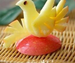 水果拼盘-苹果鸟
