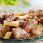 淮山蒸排骨(荤菜)