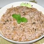 梅菜蒸肉饼(荤菜-清蒸菜)