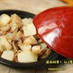 腊肉焖萝卜(荤素搭配)