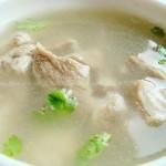 清炖羊肉汤(荤菜)